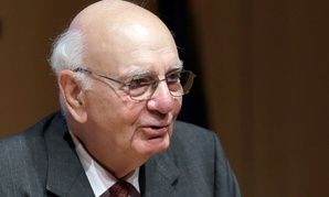 Former Federal Reserve Bank Chairman Paul Volcker