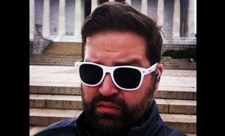 GSA's Justin Herman has been growing a furlough beard.