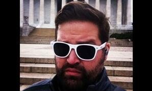 GSA's Justin Herman has been growing a furlough beard.