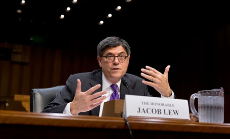 Jacob Lew testified Thursday.