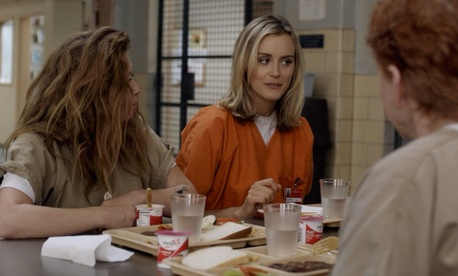 Netflix original Orange is the New Black portrays inmates at a fictional federal prison in New York.