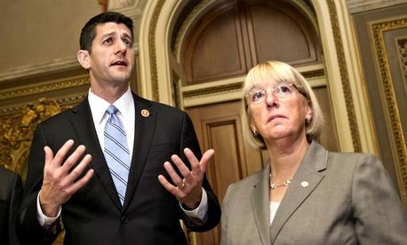 House Budget Committee Chairman Paul Ryan, R-Wisc., Senate Budget Committee Chair Patty Murray, D-Wash.
