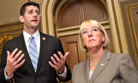 Paul Ryan, R-Wis., and Patty Murray, D-Wash.