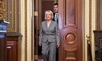 Sen. Patty Murray, D-Wash., front, and Rep. Paul Ryan, R-Wis., appear to be the main players in the budget negotiations.
