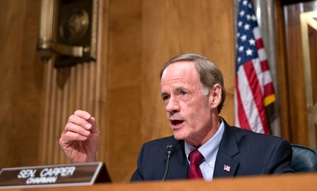 Sen. Tom Carper, D-Del., chairman of the Senate Homeland Security and Governmental Affairs Committee