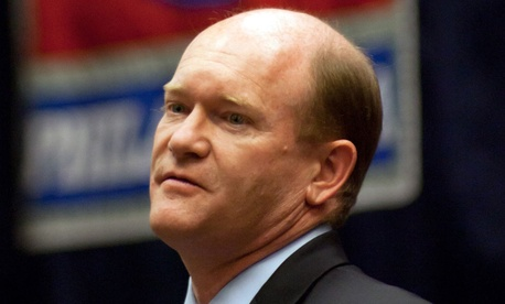 "Despite what Sen. Christopher Coons, D-Del., called a ""constructive"" meeting, the visit underscores just how much worry there is among Senate Democrats."