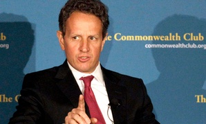 Former U.S. Treasury Secretary Tim Geithner