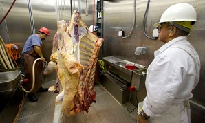 USDA was able to avoid furloughing meat inspectors in 2013.