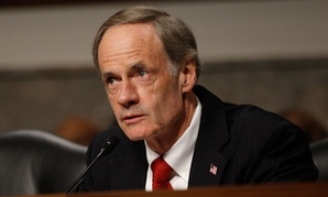 CMS spent $108 million on the anti-fraud contracts in 2012, GAO noted in the report requested by Sens. Tom Carper, D-Del., pictured, and Tom Coburn, R-Okla.