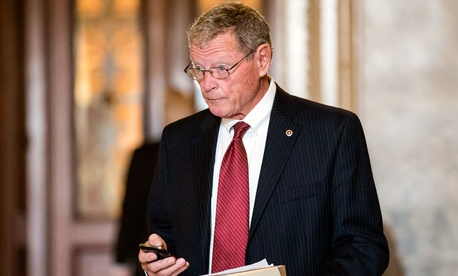 Sen. James Inhofe, R-Okla.