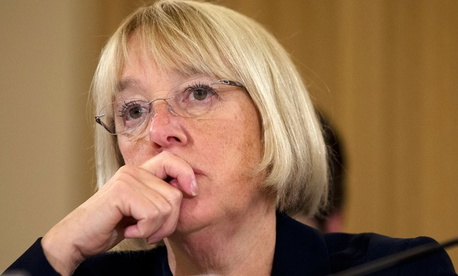 """If Chairman Ryan and I did not reach an agreement, we would be at sequester level very shortly, and many of these same people [federal employees] would be facing furloughs, layoffs and uncertainty,"" said Sen. Patty Murray, D-Wash."