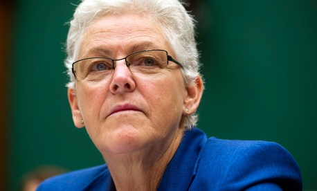 EPA administrator Gina McCarthy; Some have questioned McCarthy's handling of the Beale scandal.