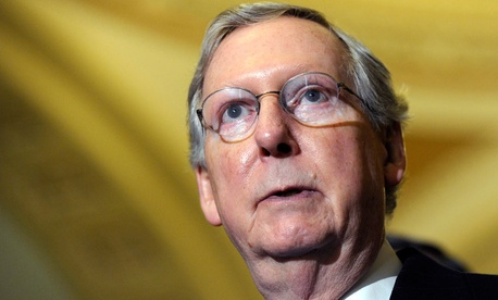 Senate Minority Leader Mitch McConnell, R-Ky.