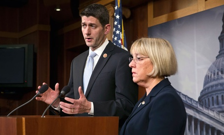 In the budget deal clinched by Sen. Patty Murray and Rep. Paul Ryan, however, members did take a step to cut benefits to military retirees.