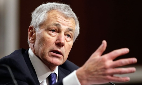 Defense Secretary Chuck Hagel