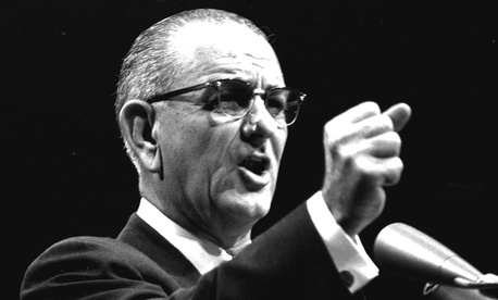 President Lyndon Johnson declared war on poverty nearly 50 years ago.