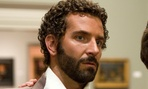 Bradley Cooper is nominated for his portrayal of an FBI agent in American Hustle.