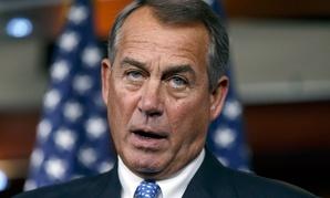 House Speaker John Boehner of Ohio
