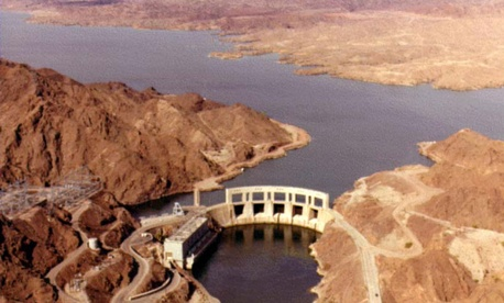 The Parker Dam is one of the facilities named in the report.