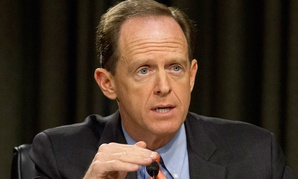 """That's not an ideal pay-for, in part because it is so distant,"" said Republican Sen. Pat Toomey of Pennsylvania."
