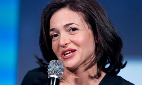 Sheryl Sandberg, the Chief Operating Officer of Facebook