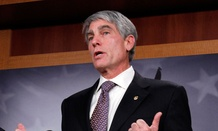 NBC News reported Wednesday that Sen. Mark Udall, D-Colo.,  will put a hold on the nomination of Caroline Krass to be the CIA's general counsel.