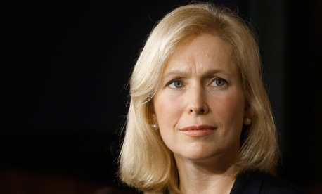 """We will work harder than ever in the coming year to strengthen our military by taking sexual assaults and other major crimes out of the chain of command,"" Sen. Kirsten Gillibrand wrote."