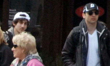 Dzhokhar Tsarnaev, left, and Tamerlan Tsarnaev were suspects 1 and 2 in the Boston bombing.