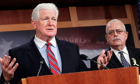 Reps. Jim Moran, D-Va., (left) and Gerry Connolly, D-Va.,  are pushing the measure.