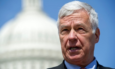 Rep. Mike Michaud backs a gentler approach than Republican colleagues.