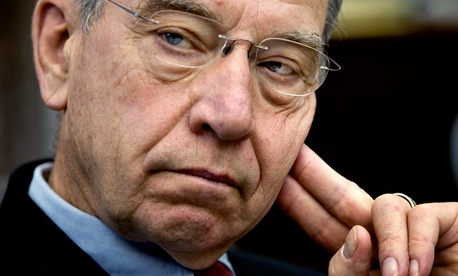 """Transparency changes behavior,"" Sen. Chuck Grassley, R-Iowa, said in an April 11 statement. ""HUD needs to embrace that idea. I'm looking forward to the public release of housing authority salary data."""