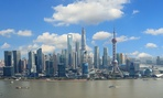 This is the real Shanghai skyline.