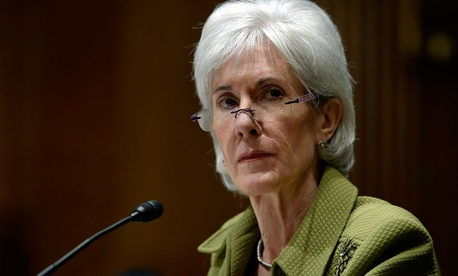 Former Health and Human Services Secretary Kathleen Sebelius