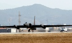 A U.S. Air Force U-2 spy plane takes off from the U.S. airbase in Osan, south of Seoul, South Korea.