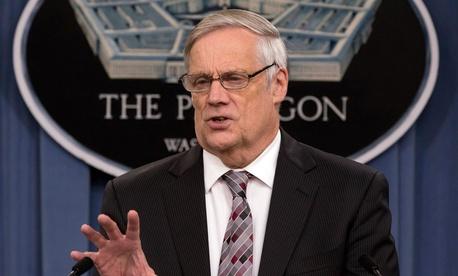 Defense Undersecretary and Comptroller Robert Hale