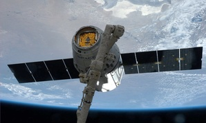 The third SpaceX Dragon commercial cargo spacecraft met the ISS in April.
