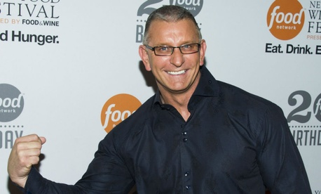 Chef Robert Irvine attends the Food Network's 20th birthday party