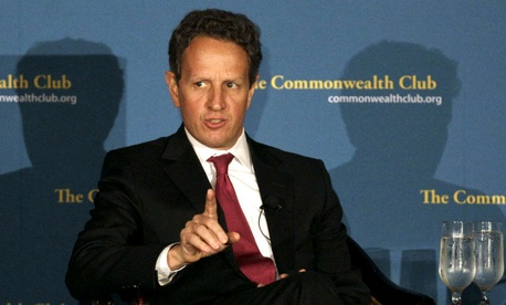 Former Treasury Secretary Tim Geithner