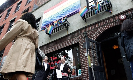 New York's Stonewall Inn gained federal distinction in 2000.