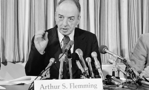 The awards are are named for noted civil servant Arthur Flemming, who served presidents from Franklin Roosevelt to Bill Clinton, earning the Presidential Medal of Freedom in 1994.