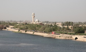 Second Lt. Brian Quinn photographed vistas of Baghdad from an Army transport in 2011.