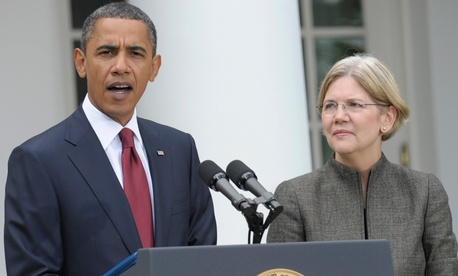 Warren was Obama's choice to head the Consumer Financial Protection Bureau in 2010.