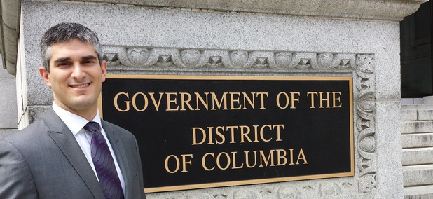 District of Columbia Council General Counsel V. David Zvenyach has helped the local government of the nation's capital unlock its law code.