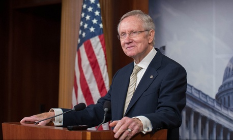 Sen. Harry Reid, D-Nev., is the current Senate Majority Leader .