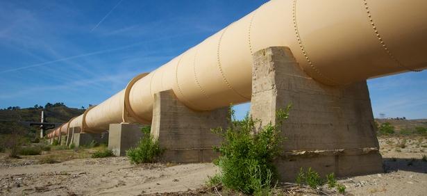 The Los Angeles Aqueduct in California