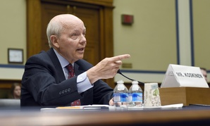 IRS Commissioner John Koskinen testified at a contentious hearing Wednesday.