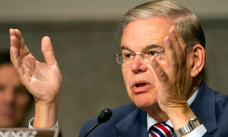 Senate Foreign Relations Committee Chairman Sen. Robert Menendez