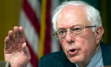 Senate Veterans Affairs Committee Chairman Sen. Bernie Sanders, I-Vt.