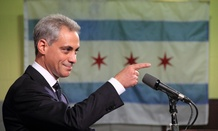 "Chicago Mayor Rahm Emanuel wants petroleum coke storage companies to ""either clean up or shut down."""
