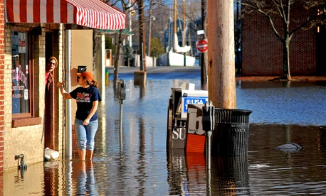 Downtown Annapolis has experienced more flooding in recent years.